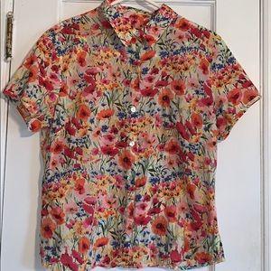 Crazy Horse floral blouse.